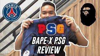 #HYPEMANIA   BAPE x PSG Paris Saint-Germain Review