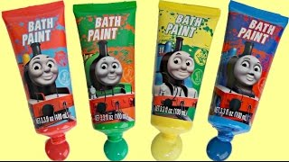 Thomas and Friends Bath Paint and Soap Toy Kid Videos