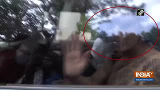 Video: Kannada actress Ragini detained by cops in drug rac..