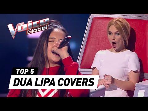 Best DUA LIPA covers in The Voice Kids