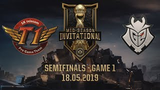 SKT vs G2 [MSI 2019][18.05.2019][Semifinals][Game 1]