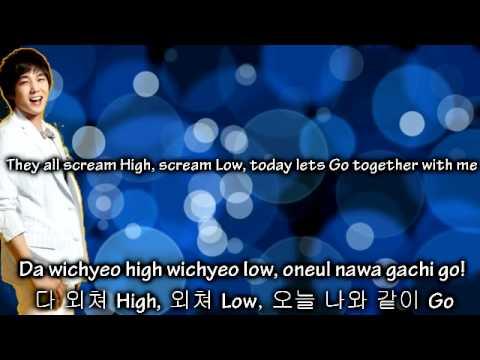 Super Junior - Rockstar ~ Lyrics on screen [Eng. || Rom. || Han.]