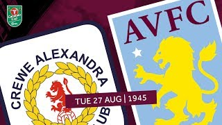 Crewe Alexandra 1-6 Aston Villa | Extended highlights