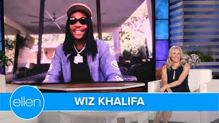 Chelsea Handler & Wiz Khalifa Got High on His Strong Weed at a Dinner Party