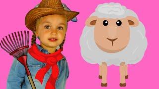 Learn Farm Animals. Educational Video for Kids. Old Macdonald-Nursery Rhyme
