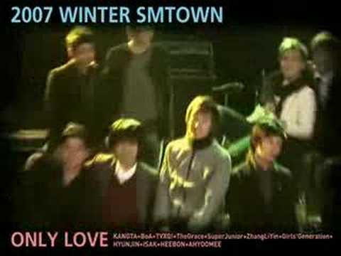 SNSD 2007 WINTER SM TOWN with SNSD