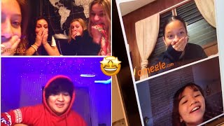 The Top Best Omegle Singing Reactions!😍😍