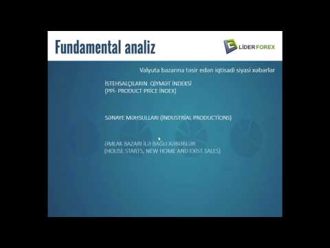 Onlayn Web Seminar - Fundamental analiz