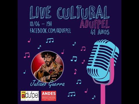 Live Cultural ADUFPel 41 anos