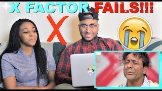 X Factor Top 5 WORST Auditions EVER Reaction!!