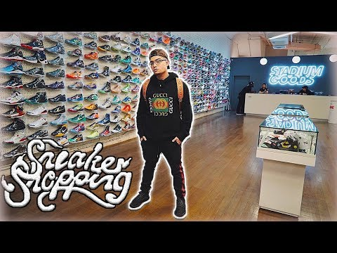 LEGIT VLOGS GOES SNEAKER SHOPPING IN NYC!! (Stadium Goods, Round 2, Nike)