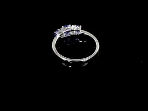 Browns Family Jewellers Tanzanite Three Stone Ring