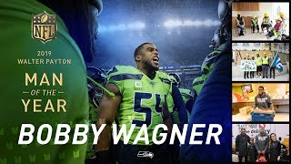 Bobby Wagner Named Seahawks Man of the Year | 2019 Seattle Seahawks