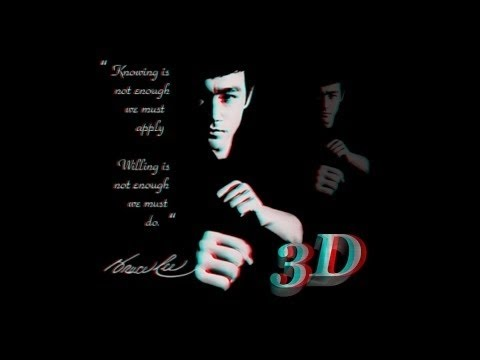 Bruce Lee - Fist of Fury in 3D (YT3D) converted by NQT @3Dstreaming.org