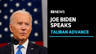 IN FULL: Joe Biden stands by decision to withdraw from Afghanistan amid Taliban takeover | ABC News