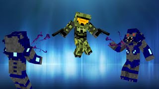 Halo in Vanilla Minecraft | ONLY ONE COMMAND BLOCK (1.8)