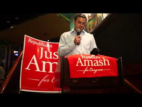 Watch Justin Amash attack Brian Ellis: 'You owe my family and this community an apology'