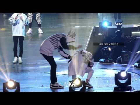 140920 북경콘서트 - 귀여운 종인이의 헐리웃 액션!!