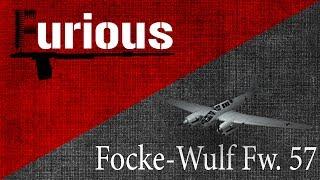 Fw. 57. Сарай в воздухе.
