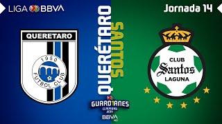 Resumen | Querétaro vs Santos | LIGA BBVA MX - Guard1anes 2021 - Jornada 14