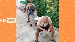 Funny videos 2019 ✦ Funny pranks try not to laugh challenge P52