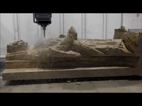The making of a Statue