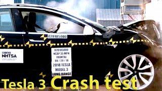 Tesla Model 3 Crash Test 2019 (Safety Rating ★★★★★)