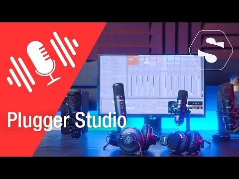 Vidéo Plugger studio - gamme de produits pour le home studio