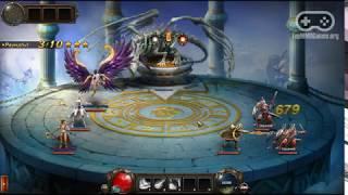 Геймплей браузерной игры Dragon Knight / Драгон Кнайт