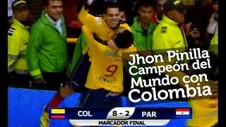 Colombia 8 vs. Paraguay 2 / Final del Mundial de Microfútbol (AMF Futsal)  2011 - partido completo