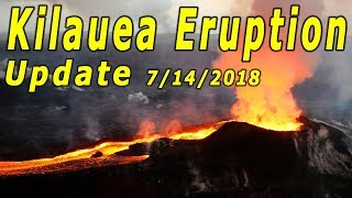 Hawaii Kilauea Volcano Eruption News Update for 7/14/2018