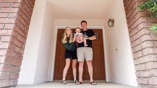 EMPTY HOUSE TOUR WALK THROUGH! Our New House!