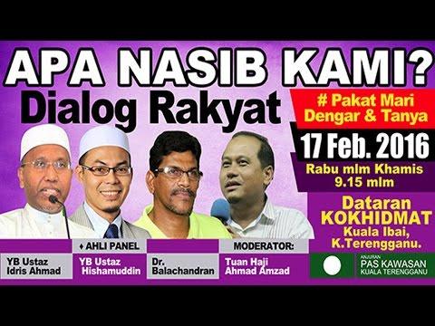 Dialog Rakyat: Apa Nasib Kami?