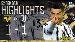 Hellas Verona 1-1 Juventus   Ronaldo Scores in Away Draw   EXTENDED Highlights