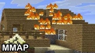 Minecraft: MY HOUSE IS BURNING!!!!!!! (45)