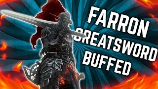 Dark Souls 3 - Newly Buffed Farron Greatsword & Repeating Crossbow - PvP Build