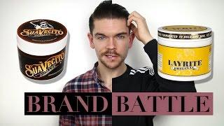 Suavecito Pomade vs. Layrite Original Pomade | Brand Battle