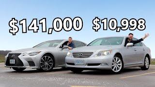 2021 Lexus LS 500 vs 2009 Lexus LS 460 // Born To Be Bargains