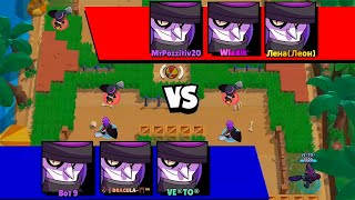 *WOW* 6 MORTIS in GAME!| Brawl Stars Funny Moments & Fails & Glitches #288