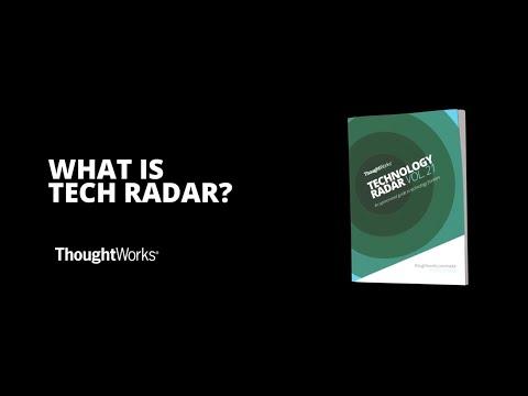 ThoughtWorker Zhamak Dehghani Explains Technology Radar