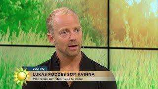 """Bytte kön """"Jag tog nästan livet av mig"""" - Nyhetsmorgon (TV4)"""