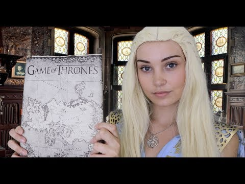ASMR Game of Thrones Roleplay: Daenerys Targaryen Heals You and Discusses War