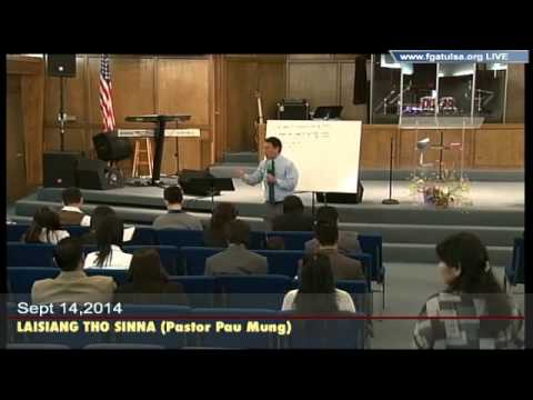 [FGATulsa]#1045#Sept 14,2014 LAISIANG THO SINNA (Pastor Pau