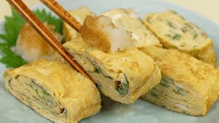 Tamagoyaki (Japanese omelette) | Cooking with Dog