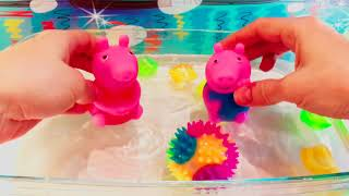 If You're Happy Clap Your Hands and The Bath  Song, Pig in Pool, Nursery Rhymes & Kids Songs