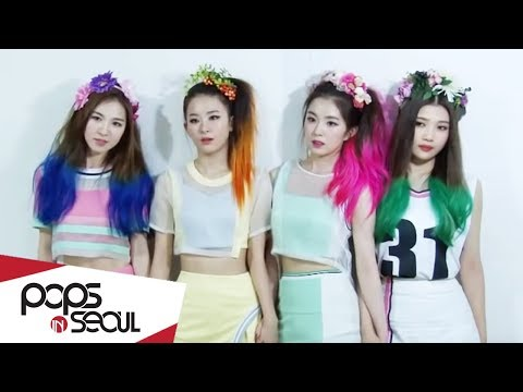 Pops in Seoul - Red Velvet(레드벨벳) _ Happiness(행복) - Interview