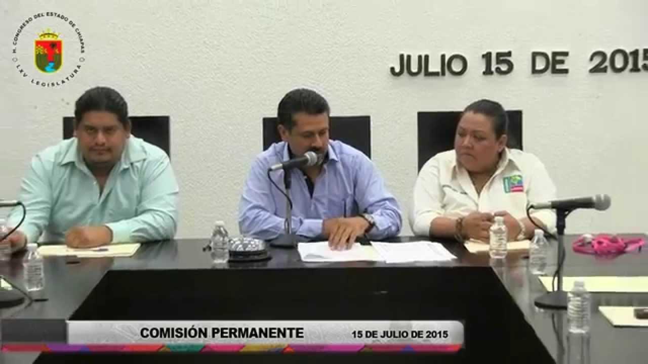 Comisión Permanente 15 de Julio de 2015