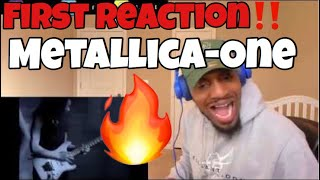 (First Reaction to HEAVY METAL) | Metallica - One [Official Music Video] | REACTION