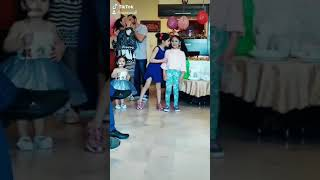 Sara and maro freeze dance