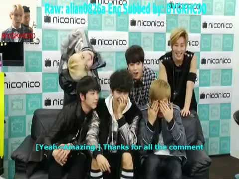 [ENG] BAP Himchan loves Bang Yongguk's shoulder